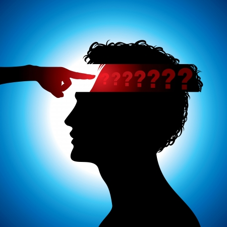 health questions: confused man