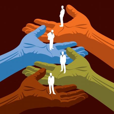 la union hace la fuerza: mantener empresarios