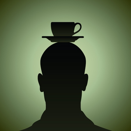 depend: think of a cup of coffee