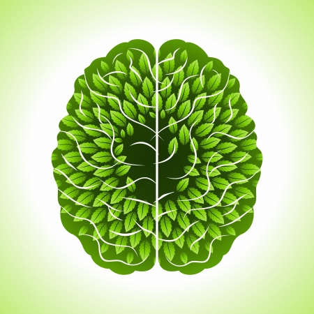 mind body: save environment  concept