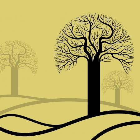 abstract tree, symbol of nature Stock Vector - 17635215