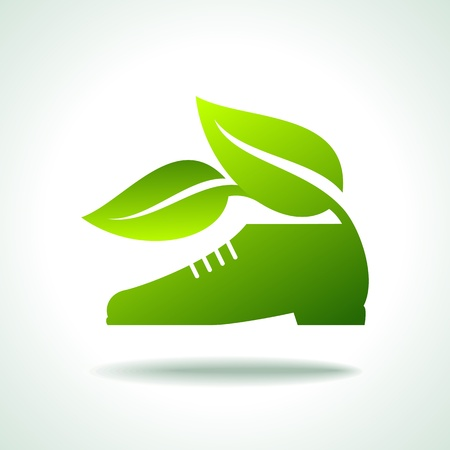 go for green walk Vector