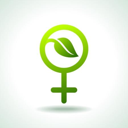 green Icon save environment concept Stock Vector - 17637733