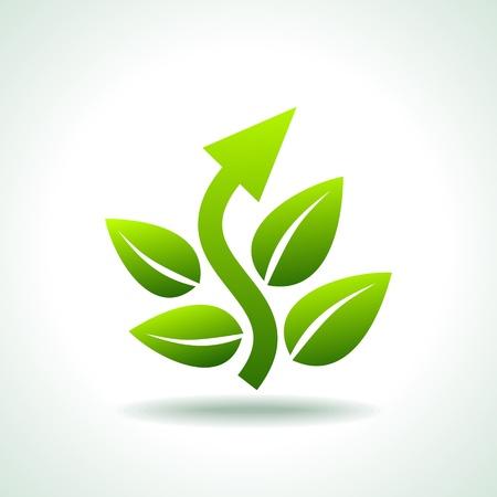 go for green Stock Vector - 17637793