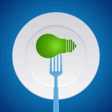 food idea Vector