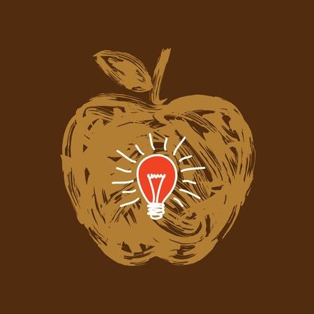 fruit idea Stock Vector - 18176747
