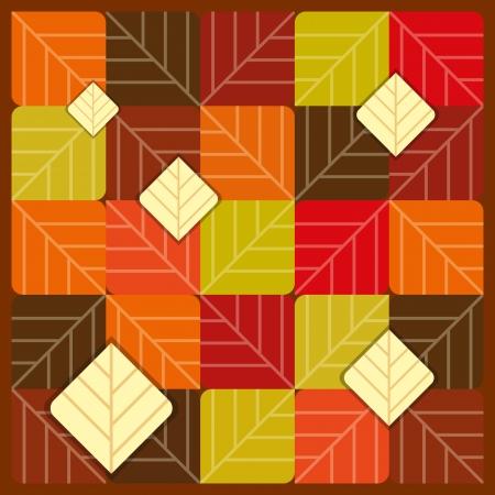saturate: Autumn seamless pattern