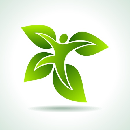 save the environment: environmental idea vector