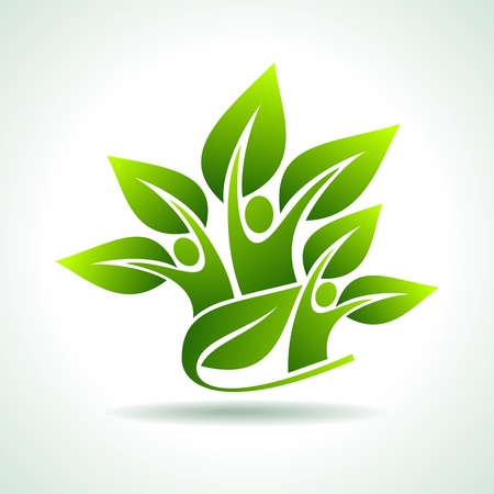 plants growing: environmental idea vector