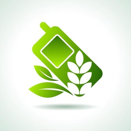 e commerce icon: idea del medio ambiente