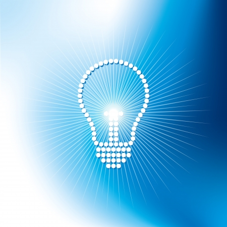 idea of new light Stock Vector - 18162078