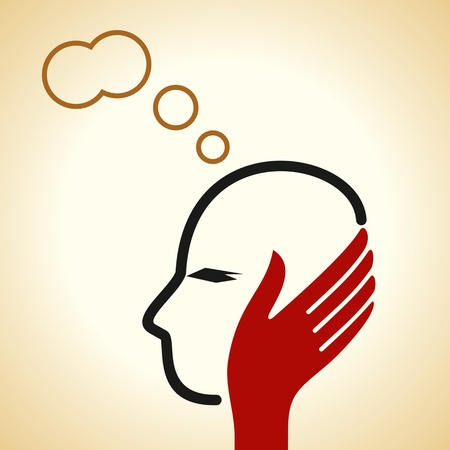 thinking about vector Stock Vector - 18160989