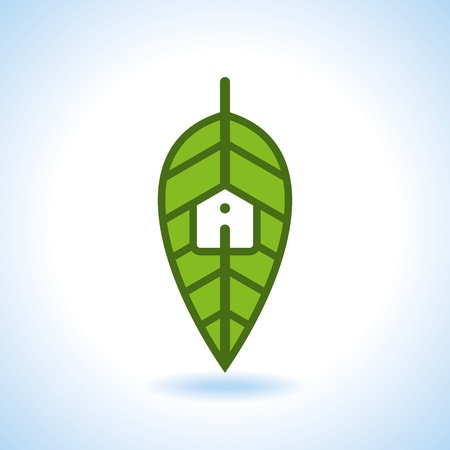 sanatorium: Bio eco green house icon