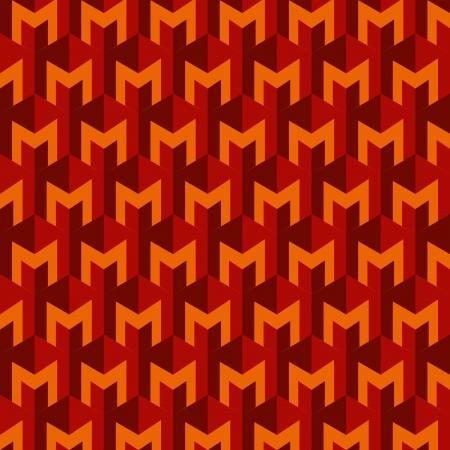 seamless geometric pattern Stock Vector - 18178463
