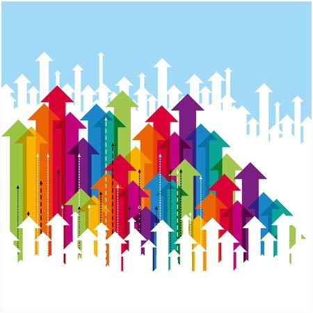 예측: 비즈니스 화살표 개념