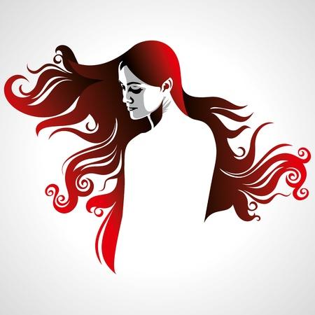 taglio capelli: creativi della moda femminile ritratto