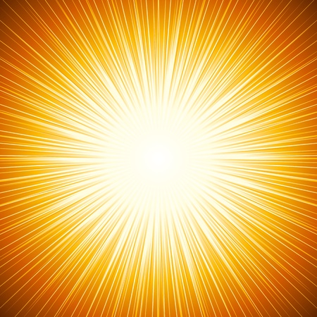 sunburst: abstract background of sun beam Illustration