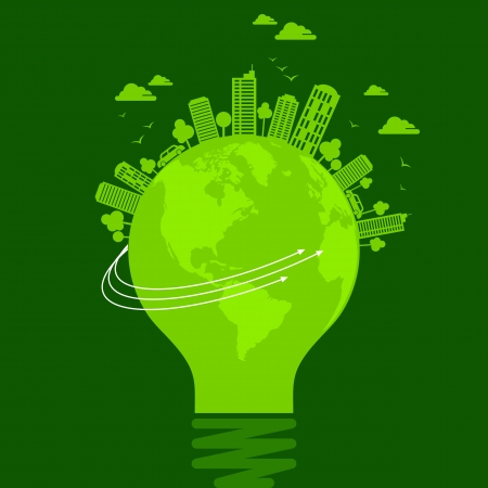 concept d'écologie - save earth