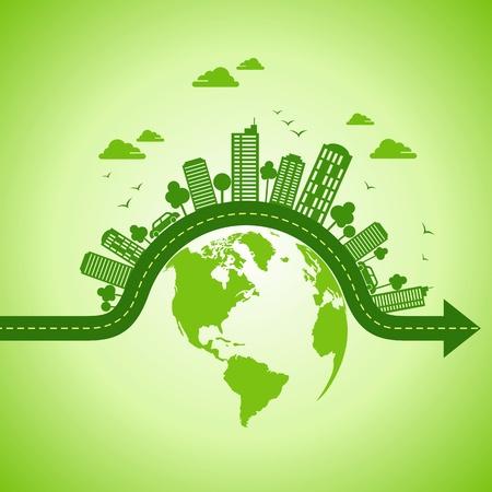 desarrollo sustentable: concepto de la ecología - save tierra