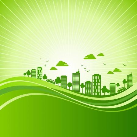 eco-vriendelijke concept