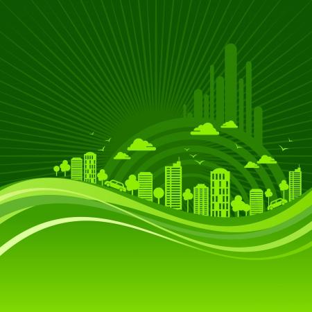 eco friendly concept Stock Vector - 18240327