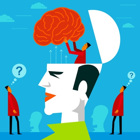 fitting in: fitting a mind in human head