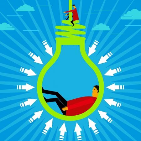 brain power: hanging a new idea