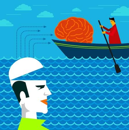 steal brain: bringing a brain for human head