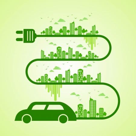 medio ambiente: verde tierra-ecolog�a concepto