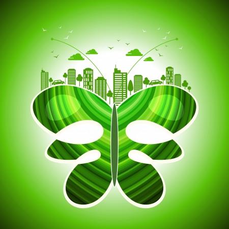 green earth- ecology concept Stock Vector - 18210813