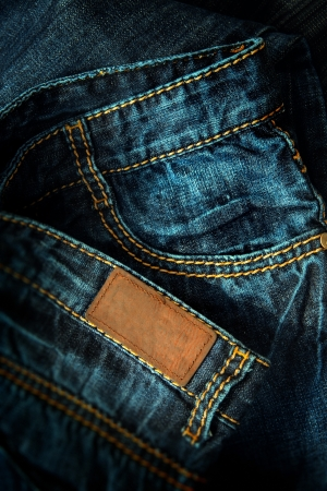 advertising material: jeans image for background