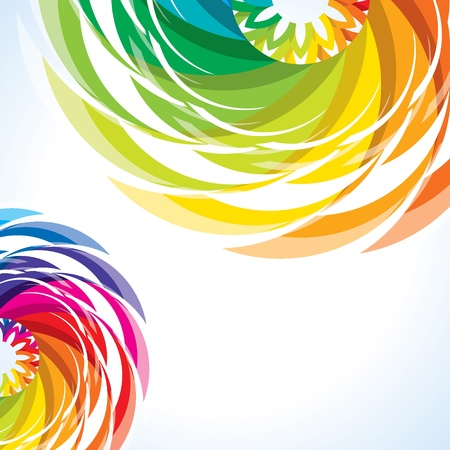 chromatic color: abstract colorful design