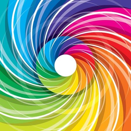 chromatique: design color� abstrait Illustration