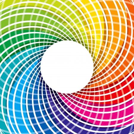 abstrakte farbenfrohe Design