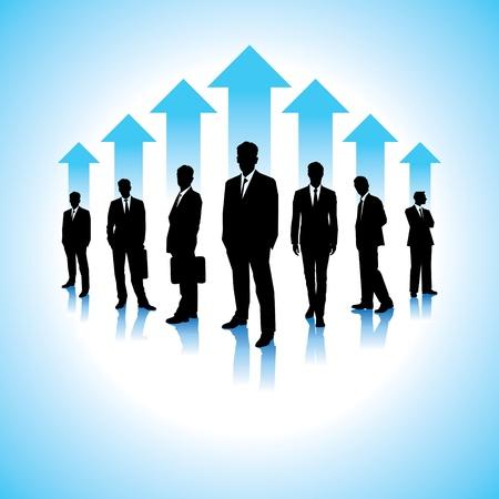 Globale Business-Hintergrund Illustration