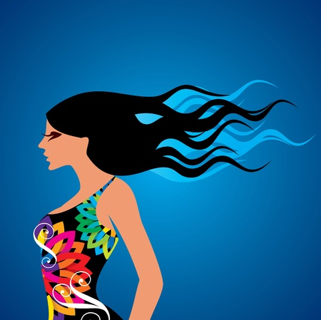 fashion beauty vector Stock Vector - 19466655