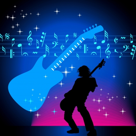 music background vector Stock Vector - 19466783
