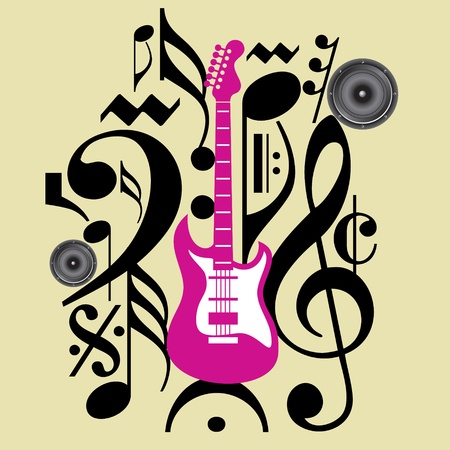creative music icon Vector