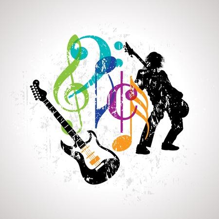 gitara: tło muzyczne