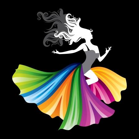 womanish: fashion woman illustration