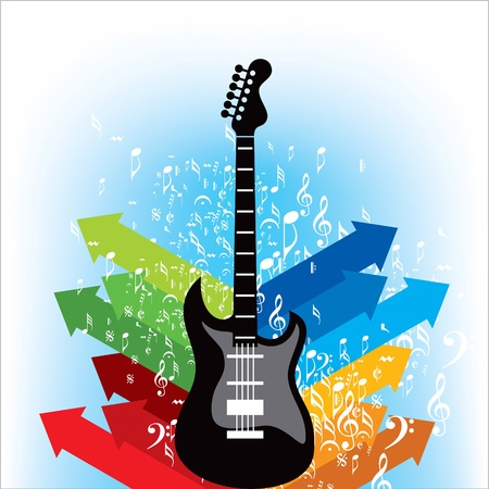 Abstract musical background for music event design Stock Vector - 19466684