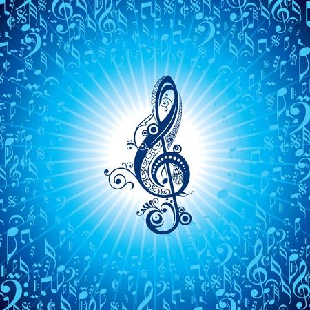 fiery font: Zusammenfassung musikalischen Hintergrund mit Musik-Event-Design