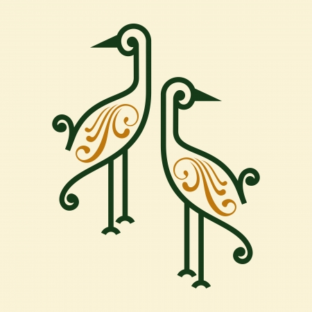 bird icon vector Vector