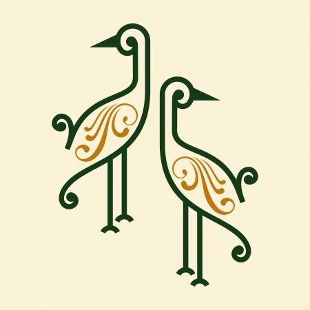 sparrow: bird icon vector Illustration
