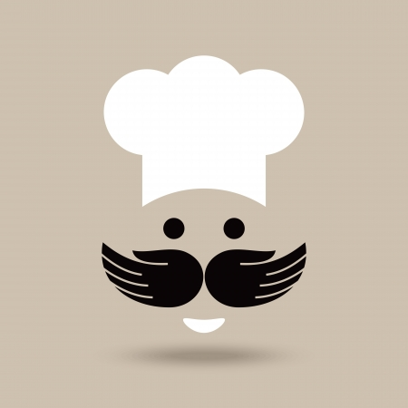 creative chef idea Vector
