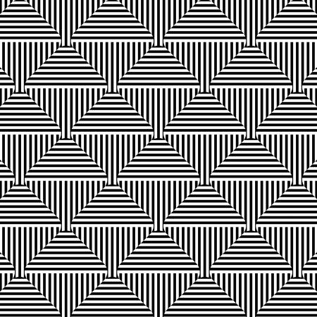 抽象的な幾何学的なシームレス パターン  イラスト・ベクター素材