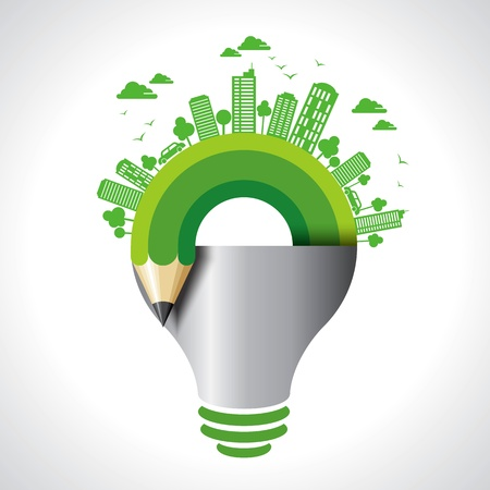 green environment: ecology concept - save earth idea