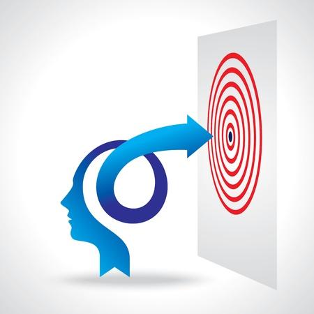 ビジネス思考の矢印