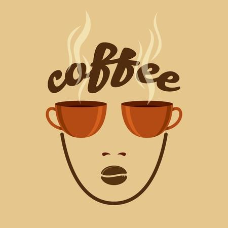 Vintage Coffee concept Vector