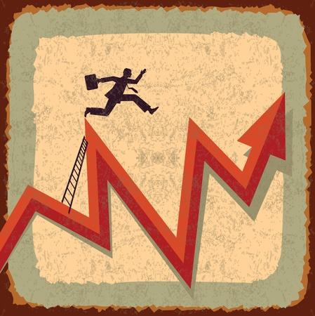 vintage business idea Stock Vector - 22102237